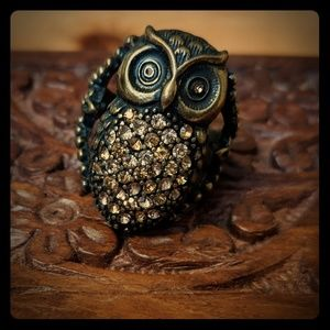 Jewelry - 2 for $10!! 🦉Owl ring🦉